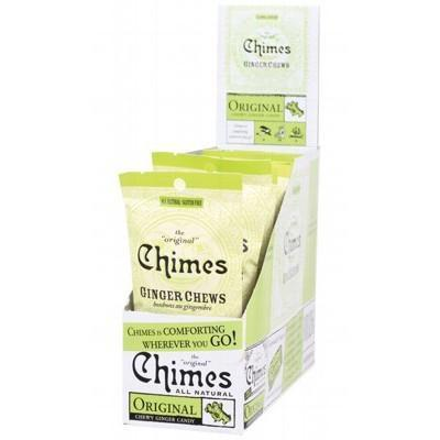 Original Ginger Chews 12x42.5g - CHIMES