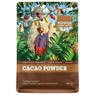 Cacao Powder 1kg - POWER SUPER FOODS