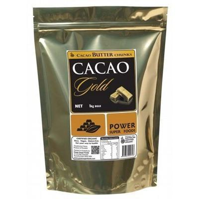Cacao Butter Chunks 1kg - POWER SUPER FOODS