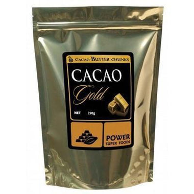 Cacao Gold Butter Chunks 250g - POWER SUPER FOODS