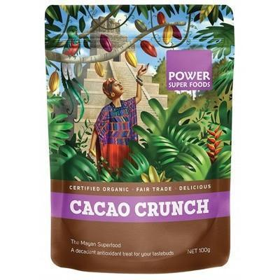 Cacao Crunch Nibs 100g - POWER SUPER FOODS