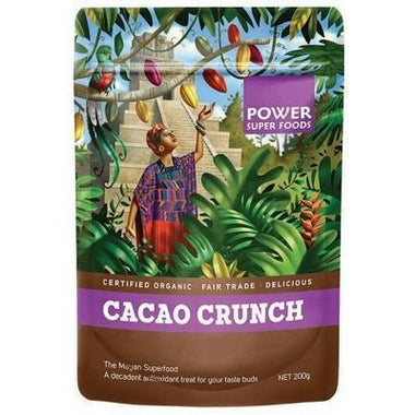 Cacao Crunch Nibs 200g - POWER SUPER FOODS