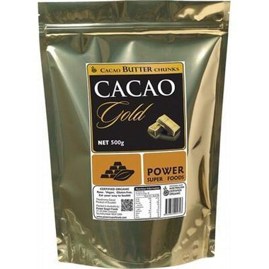 Cacao Butter Chunks 500g - POWER SUPER FOODS