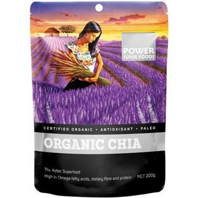 Chia Seeds Organic 200g - POWER SUPER FOODS