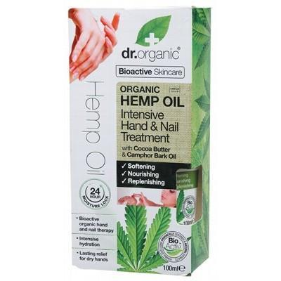 Hemp Hand & Nail Oil 100ml - DR ORGANIC