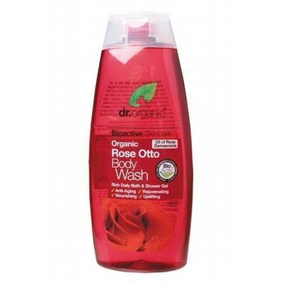 Rose Body Wash 250ml - DR ORGANIC