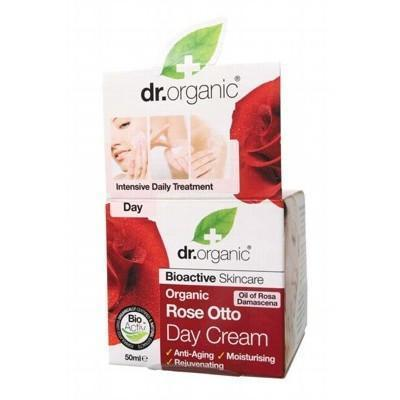 Rose Day Cream 50ml - DR ORGANIC