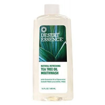 Tea Tree Mouthwash 480ml - DESERT ESSENCE
