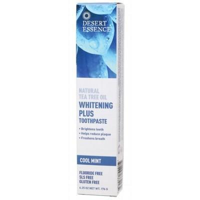 Tea Tree Toothpaste Whitening 176g - DESERT ESSENCE