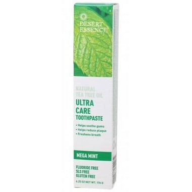 Tea Tree Toothpaste Ultracare 176g - DESERT ESSENCE