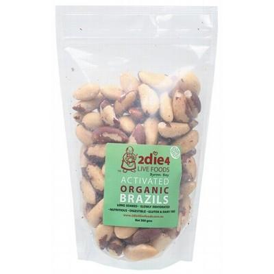 Activated Brazil Nuts 300g - 2DIE4 LIVE FOODS