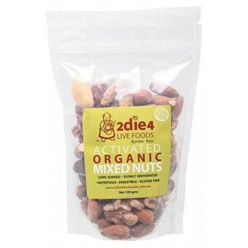 Activated Mixed Nuts 120g