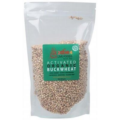 Activated Buckwheat 300g - 2DIE4 LIVE FOODS