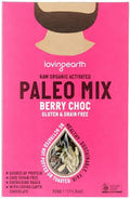 Loving Earth Raw Organic Paleo Mix - Berry Choc G/F 320g