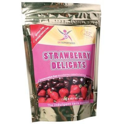Strawberry Delights 125g - DR SUPERFOODS