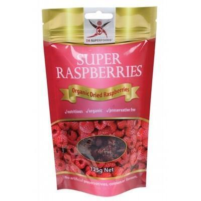 Super Rasberries 125g - DR SUPERFOODS