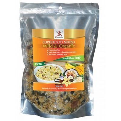 Tropical & Exotic Muesli 500g - DR SUPERFOODS