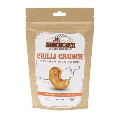 Chilli Crunch 65g - EAST BALI CASHEWS