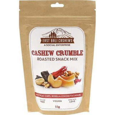Cashew Crumble 55g - EAST BALI CASHEWS