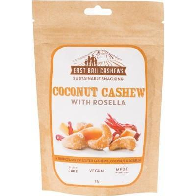 Coconut With Rosella 55g - EAST BALI CASHEWS