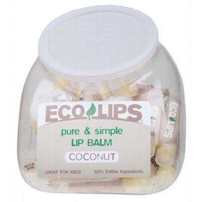 Coconut Lip Balm (Tub Of 48) 48 x 4.25g - ECO LIPS