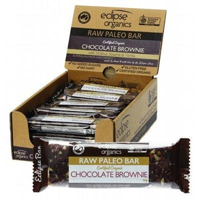 Paleo Bar Choc Brownie 20x50g - ECLIPSE ORGANICS