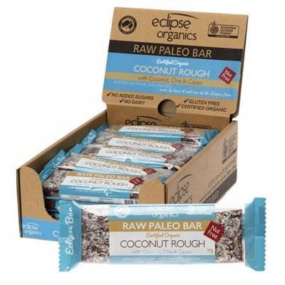 Paleo Bar Coconut Rough 20x50g - ECLIPSE ORGANICS
