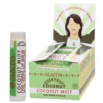Coconut Mint Lip Balm 4.25g - ALAFFIA