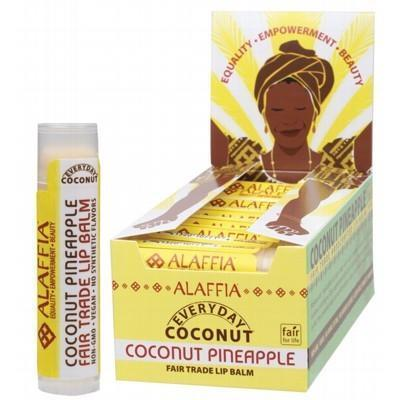 Coconut Pineapple Lip Balm 4.25g - ALAFFIA