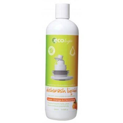 Orange Dishwash Liquid 500ml - ECOLOGIC