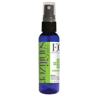 Peppermint Hand Sanitizer Spray 60ml - EO