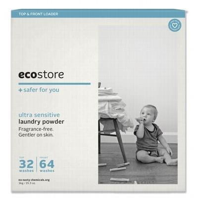 Unscented Laundry Powder 1kg - ECOSTORE