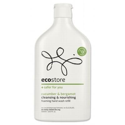 Cucumber Hand Wash Foaming Refill 500ml - ECOSTORE
