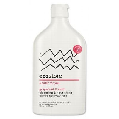 Grapefruit Hand Wash Foaming Refill 500ml - ECOSTORE