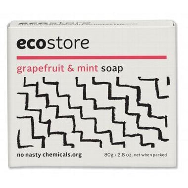 Grapefruit & Mint Soap 80g - ECOSTORE