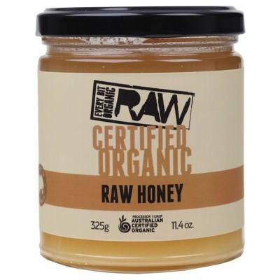 Honey 325g - EVERY BIT ORGANIC RAW
