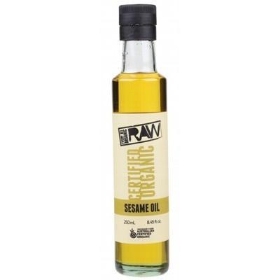 Sesame Oil 250ml - EVERY BIT ORGANIC RAW