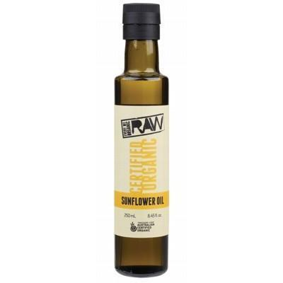 Sunflower Oil Unrefined 250ml - EVERY BIT ORGANIC RAW