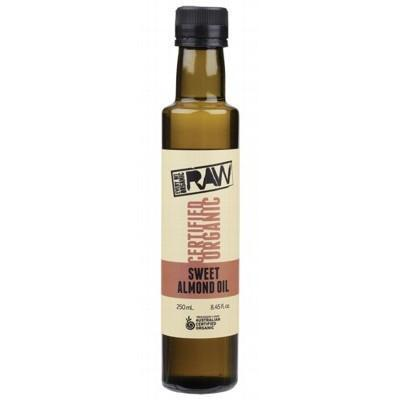 Sweet Almond Oil 250ml - EVERY BIT ORGANIC RAW