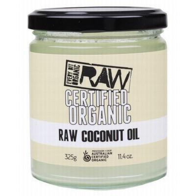 Coconut Oil 325g - EVERY BIT ORGANIC RAW