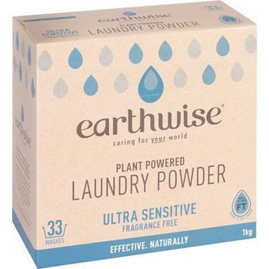 F/free Laundry Powder 1kg - EARTHWISE