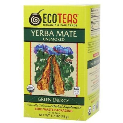 Yerba Mate Tea Bags 24 bags - ECO TEAS