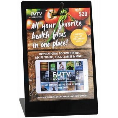 Gift Cards & Display Stand 5 - FOOD MATTERS FM TV