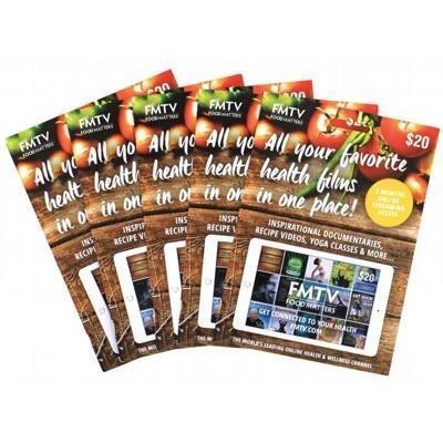 Gift Cards Refill Pack 5 - FOOD MATTERS FM TV