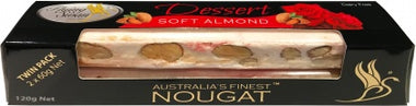 Flying Swan Soft Almond Dessert Nougat Bar 120g New