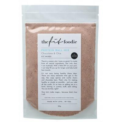 Choc Chia Protein Ball Mix 185g - THE FIT FOODIE