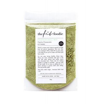Matcha Protein Ball Mix 185g - THE FIT FOODIE