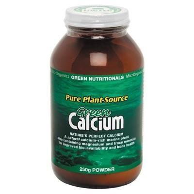 Green Calcium Powder 250g - GREEN NUTRITIONALS