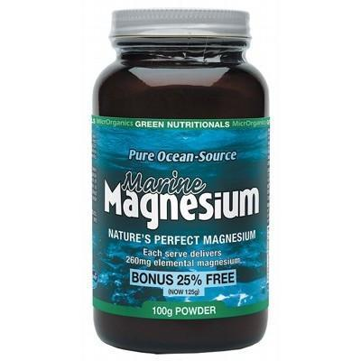 Magnesium Powder 100g - GREEN NUTRITIONALS