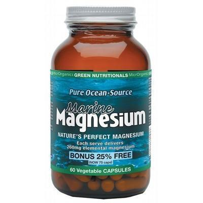 Magnesium Capsules 60 - GREEN NUTRITIONALS